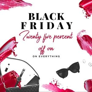 Black Friday Closet 25% Off Entire Closet Sale
